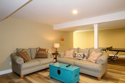 Brewster Cape Cod vacation rental - Sitting area in lower level