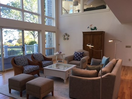 Orleans Cape Cod vacation rental - Expansive Living Area with views of Pleasant Bay