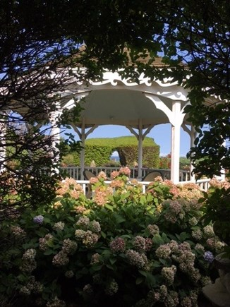 East Orleans Cape Cod vacation rental - Gazebo with beautiful flower garden