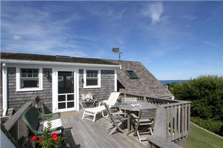 East Orleans Cape Cod vacation rental - Shared deck overlooking Nauset Beach