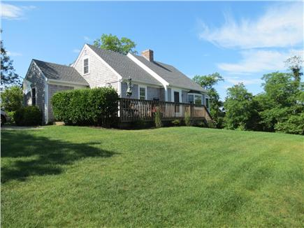 Brewster Cape Cod vacation rental - The property has a good sized lot with a grassy lawn
