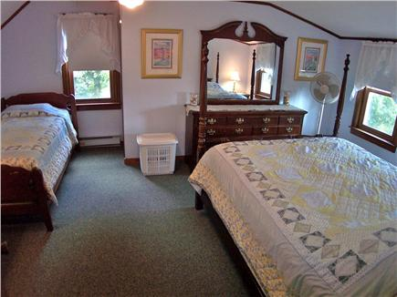 Brewster Cape Cod vacation rental - Bedroom #4 has a Queen plus a single twin