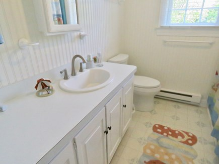 Brewster Cape Cod vacation rental - One of two renovated full baths