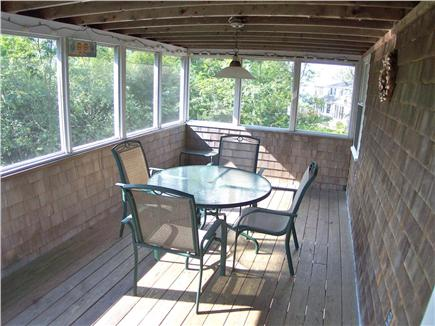 Brewster Cape Cod vacation rental - The screened porch is a great place to spend summer evenings