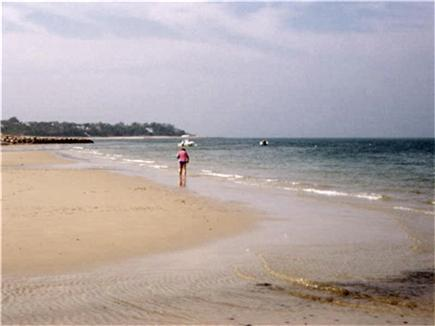 Brewster Cape Cod vacation rental - The beach is just over a tenth of a mile down the road