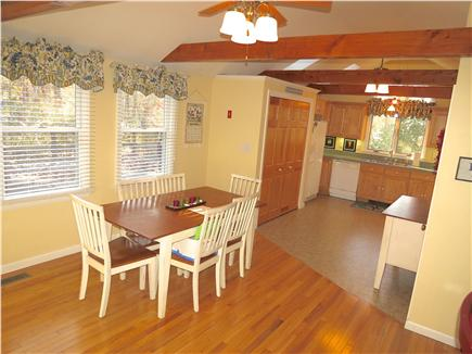 Brewster Cape Cod vacation rental - Plenty of space to serve meals right here.