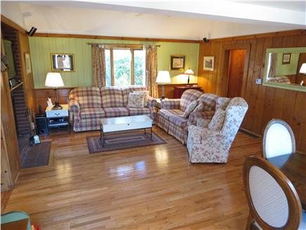 Brewster Cape Cod vacation rental - Plenty of room to relax in the living room, flat screen TV too