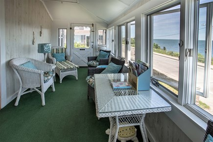 Falmouth Cape Cod vacation rental - Main Floor Sunroom