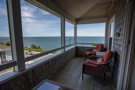Falmouth Cape Cod vacation rental - Upstairs Porch