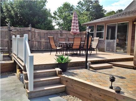 Dennis Cape Cod vacation rental - Another deck!