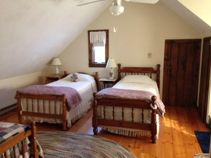Dennis Cape Cod vacation rental - Fourth bedroom (3 Twin beds)