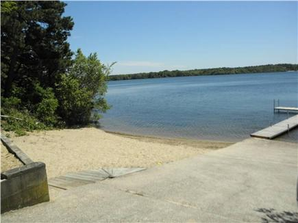 Brewster Cape Cod vacation rental - Private Seymour Pond beach and dock