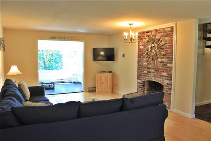 Brewster Cape Cod vacation rental - Main Living Room - flat screen HD TV, WiFi
