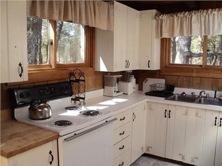 Wellfleet Cape Cod vacation rental - Cozy kitchen with dishwasher.