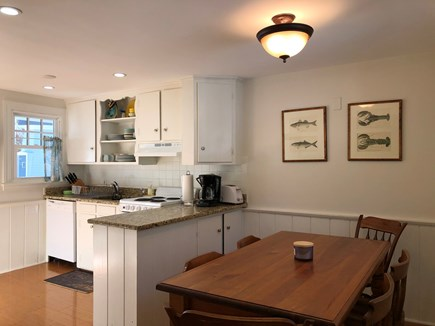 Harwich Cape Cod vacation rental - Seagull dining area and kitchen