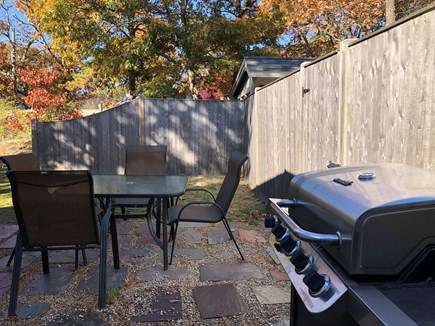 Harwich Cape Cod vacation rental - Sandpiper patio and grille