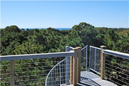 Truro Cape Cod vacation rental - View From Roof Deck
