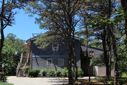 Truro Cape Cod vacation rental - Viewed From Driveway