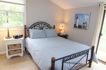 Truro Cape Cod vacation rental - Bedroom 2 - Mezzanine With Queen Bed & Ceiling Fan