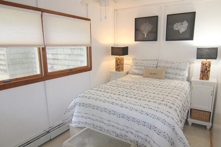 Truro Cape Cod vacation rental - Bedroom 5 - First Floor With Double Bed & Ceiling Fan