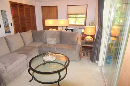 Truro Cape Cod vacation rental - Den - First Floor With 55 inch TV & Air Conditioning Unit