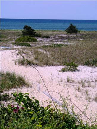 Harwich Cape Cod vacation rental - Path to Private Beach