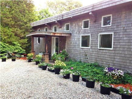 Pocasset, Bourne, Cape Cod Cape Cod vacation rental - Front of house, beautiful landscaping