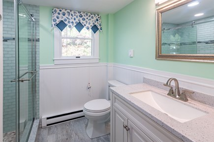 Chatham Cape Cod vacation rental - New bathroom downstairs.