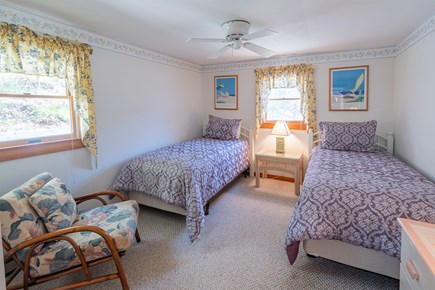 Chatham Cape Cod vacation rental - Twin bedroom downstairs.
