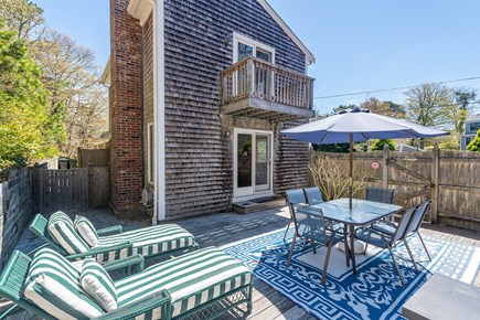 Chatham Cape Cod vacation rental - Deck for relaxing and outdoor dining.