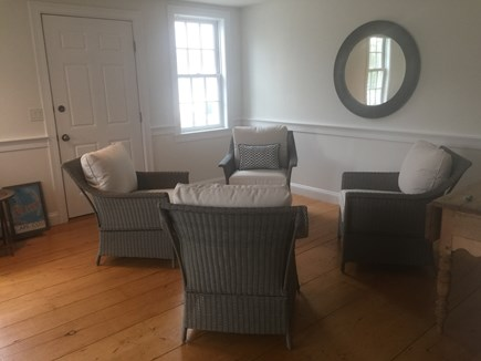Harwich Port Cape Cod vacation rental - Additional living room seating