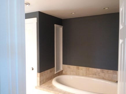 Harwich Port Cape Cod vacation rental - Separate soaking tub in second floor master bath