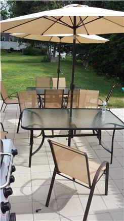 HarwichPort Cape Cod vacation rental - Patio for relaxing and grilling