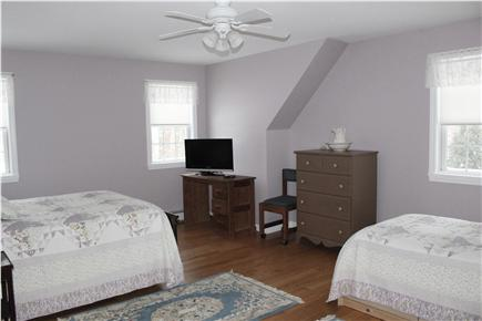East Brewster Cape Cod vacation rental - Large bed room with one twin and one double