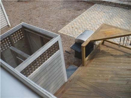 East Brewster Cape Cod vacation rental - shower,deck, patio,and gas grille