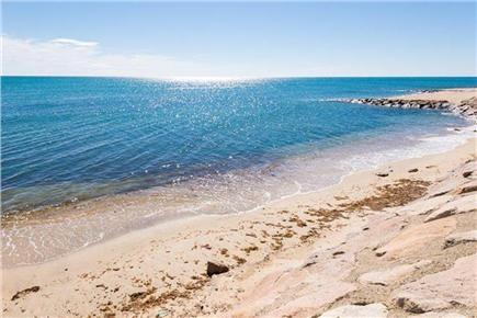 Mashpee, Popponesset Cape Cod vacation rental - End of Seaview Ave - view of Vineyard Sound less than 500 ft away