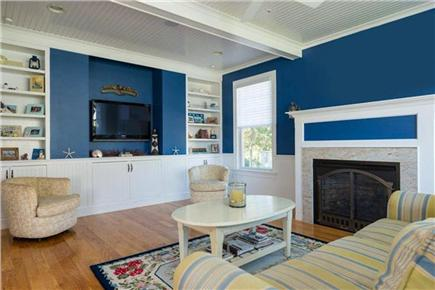 Mashpee, Popponesset Cape Cod vacation rental - Living Room with flat screen TV