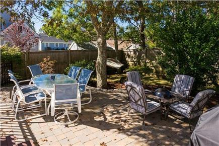 Mashpee, Popponesset Cape Cod vacation rental - Back yard patio