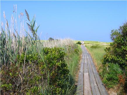 East Orleans Cape Cod vacation rental - Footbridge to Nauset Beach