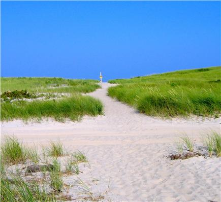 East Orleans Cape Cod vacation rental - Path to Nauset Beach