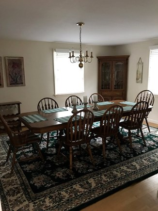Eastham Cape Cod vacation rental - Dining Room seats 8-10