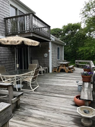 Eastham Cape Cod vacation rental - Deck with Outdoor Shower