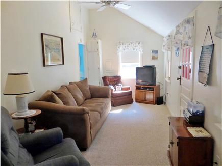 North Eastham Cape Cod vacation rental - Pull out sofa in living room