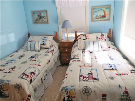 North Eastham Cape Cod vacation rental - Twin beds in this bright and sunny bedroom.