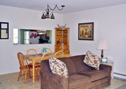 Brewster Cape Cod vacation rental - Plenty of room for eating or playing some family games!