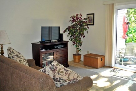 Brewster Cape Cod vacation rental - The living area has two couches for watching some TV.