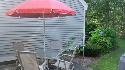 Brewster Cape Cod vacation rental - Outdoor dining is a must at the cape!
