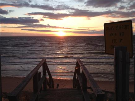 Eastham Cape Cod vacation rental - End of Bay Road (1/4 mile)--make sure to catch a sunset!