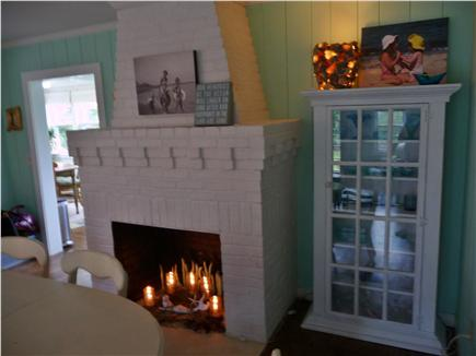 Eastham Cape Cod vacation rental - Dining room, table with six chairs