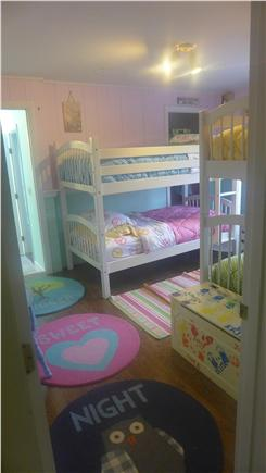 Eastham Cape Cod vacation rental - Bedroom #4, two sets of twin bunks, second floor